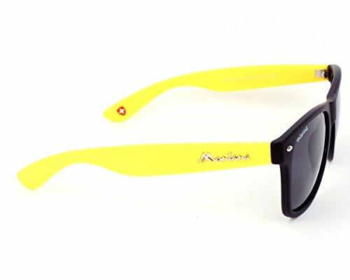 Mixte Black Yellow Smoke Multicolore Soleil Lunettes Montana de Lenses qnWRgBB