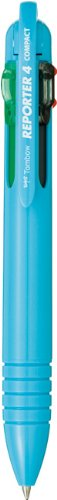 Tombow Reporter 4 Compact (Tombow Reporter 4 Compact Pen, Light Blue, 1-Pack)