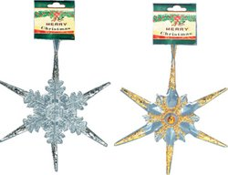 DDI - Christmas Decorations - Snow Flakes (1 pack of 72 items) by DDI