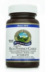 Garlic - High Potency (60) by Nature's Sunshine