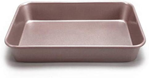 ワット/縁のボーダーノンスティック焼くトレイを調理ノンスティッククッキーシートパンメタルBakingTrayプロフェッショナル品質のキッチン (Size : 32L-34.5x24.2x6cm)