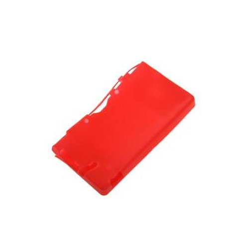 Generic Silicon Soft Case Skin Cover Pouch Sleeve Compatible for Nintendo DSi NDSi Color Red