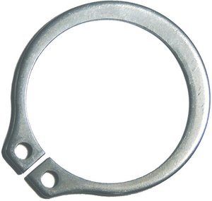 M10 SX 400 Series Stainless Steel DIN 471 External Retaining Ring, Pack of 10