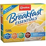 Carnation Instant Breakfast Complete Nutritional Classic French Vanilla Drink, 10ct(Case of 2) For Sale