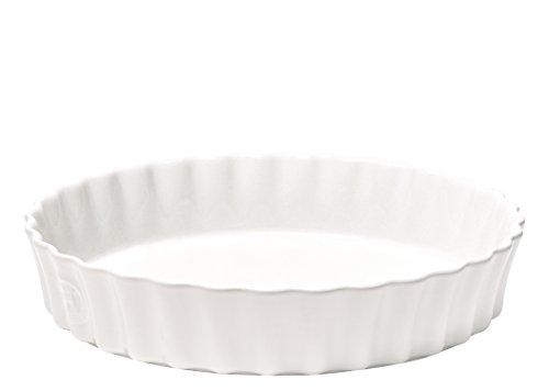 "Quiche Dish - 11"" - Deep - White"