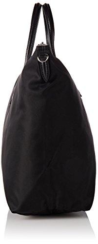 Lacoste Damen NF15 Umhängetaschen, Schwarz (Black), 29.5 x 14 x 34.5 cM