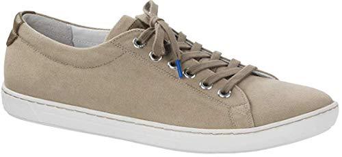 BIRKENSTOCK Arran Canvas Sneaker Shoes, Khaki, EU 36 / US Womens 5-5.5 R