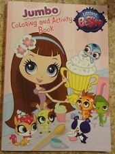 Littlest Pet Shop Cupcakes Jumbo Coloring & Activity Book -