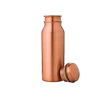 Divy Item Copper Water Bottle 100% Pure Copper | Highly Innovative Water Drinking Vessel | World Smallest Copper Bottle…