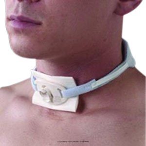 One-Piece Adult Trach-Tie Tracheostomy Tube Holder 301 Qty 1