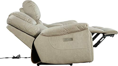 HomeTown Argos Fabric Two Seater Electric Recliner with