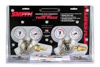 "30 Series Gas Regulator Kit 100 psi Oxygen/15 psi Fuel, 2"", Oxygen and LP/Acetylene"