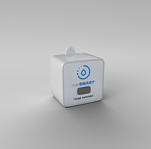 Water Leak Sensor Range Extender by leakSMART, Maximizes In-Home Flood Protection Coverage