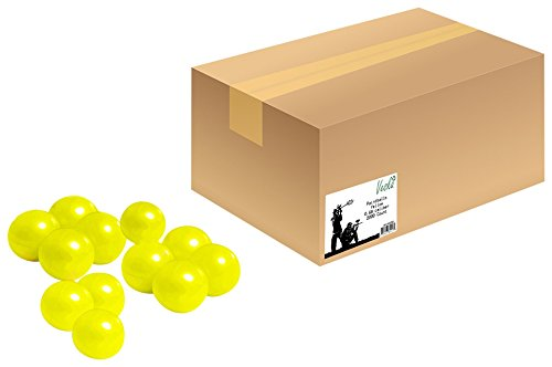 Veska V9010  High Grade Paintballs, .68 Caliber, Yellow, 500 (Paintball Gun Co2 Tank)