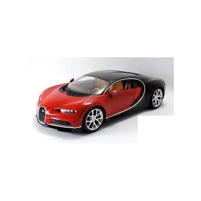 Maisto Bugatti Chiron Red 1:18 Scale Car Special Edition: Toys & Games