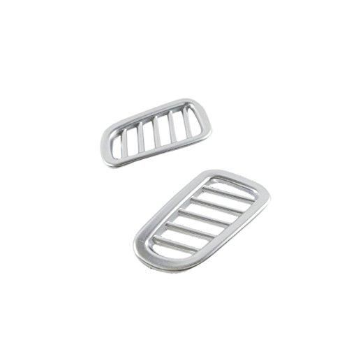 ABS mate frontal superior AC ventilació n molduras 2pcs YUZHONGTIAN Auto Trims Co. Ltd