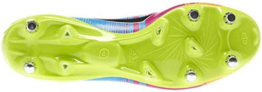adidas Adizero F50 XTRX SG Messi, Bota de fútbol, Running White-Black-Solar Slime, Talla 9 UK (43 1/3 EU): Amazon.es: Zapatos y complementos