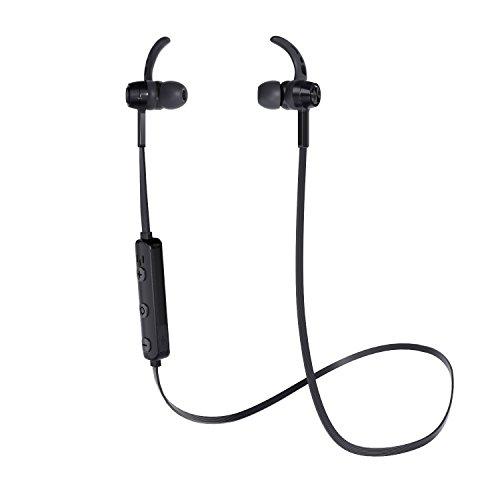 Aukey Auriculares Bluetooth, Auriculares Inalámbrico con Bluetooth 4.2 magnético y micrófono integrado para teléfonos...