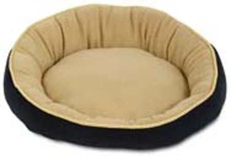 Aspen Pet 18″ Round Bed With Eliptical Bolster Assorted Colors Review