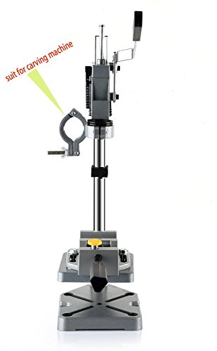 AMYAMY Electric Drill Bench/Drill Press Stand with Drill Press Vise/Drill Stand Rotary Tool Work Station Floor Repair Tool Clamp for Drilling,drill Press Table,Drill Holder (Size-Cast iron base) by AMYAMY (Image #1)