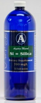 - Silica Supplements by Angstrom Minerals - Liquid Ionic Silica Mineral Water 32oz 700ppm