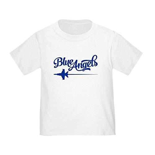 CafePress U.S. Navy Blue Angels Jet Toddler T Shirt Cute Toddler T-Shirt, 100% Cotton