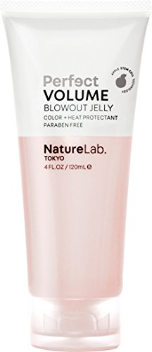 NatureLab. Tokyo - Perfect Volume Blowout Jelly for thicker, fuller hair: Vegan, cruelty free, heat and color protection- 4 fl. oz.