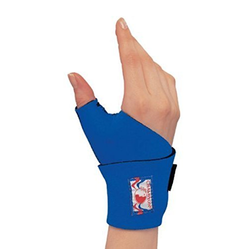 - OTC Wrist-Thumb Splint, Wrap Style Support, Neoprene, Small