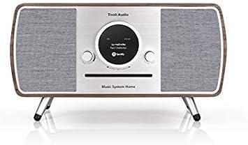 Tivoli Audio (Tipo de colección) Music System Home – All-in-One Dab +/FM Minicadena con tecnología inalámbrica Wi-Fi y Bluetooth – Walnut/Grey