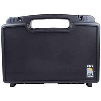 Ape Case ACLW13593 protective light weight small Hard Stackable Case With Foam