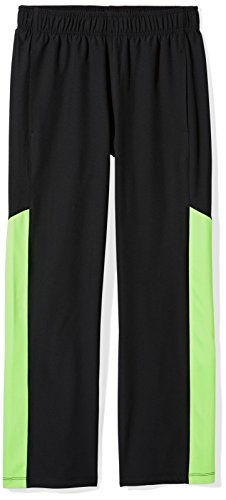 (Amazon Essentials Little Boys' Light-Weight Active Pant, Black, S)