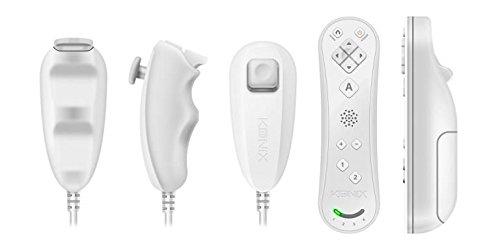 Duo Bianco Konix Pack U Edizione Controller Wii Wii Germania amp; Addq4wx