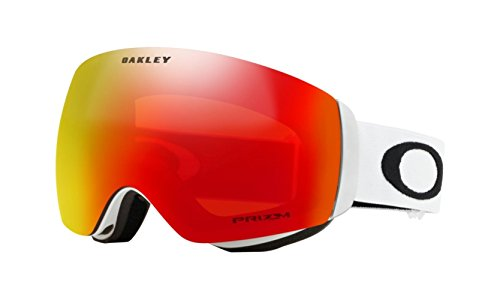 Oakley OO7064-24 Flight Deck XM Eyewear, Matte White, Prizm Torch Iridium - Optics Oakley