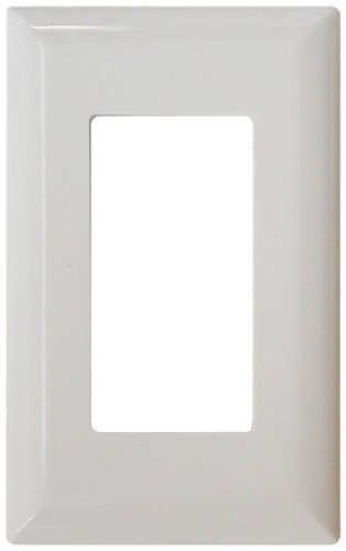 Decor Switchplate - Diamond Group 52494 White Switch Decor Cover Snap On