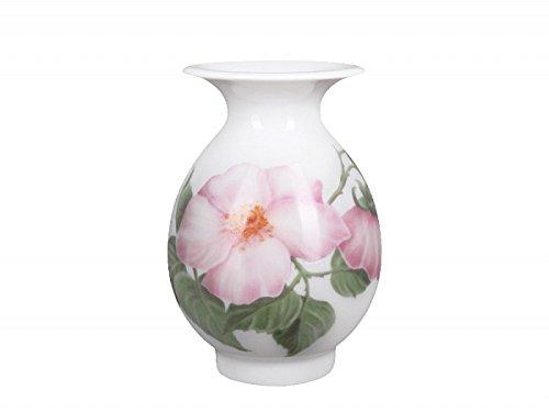 (Lomonosov Porcelain Flower Vase Birch Wild Dog-Rose)