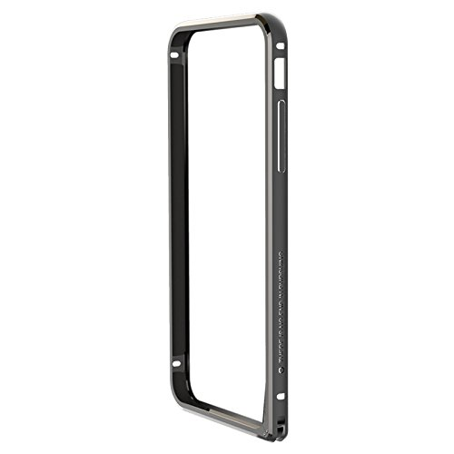 (HS-TOP  ® NILLKIN border Frame Case Cover Metall Rüstung, Rand Conque Slim Hülle für APPLE iPhone 6 (4.7 Zoll), Grau