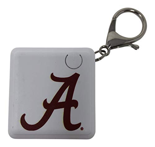 Collegiate Chain - Alabama Roll Tide Rechargeable Key Chain Charger Power Bank Battery Dual Connector for Android Micro USB Apple Official Collegiate Logo