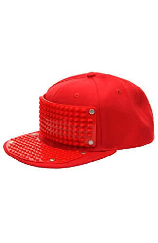 Bricky Blocks Red Snapback Hat for Kids and Adults by elope -