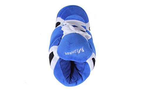 and NBA Sneaker Washington Happy Wizards OFFICIALLY and Slippers Womens Feet Feet Mens Comfy LICENSED 1qRXMX