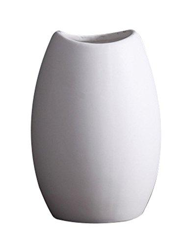 Sk Stuido Home Simple European Type Design Great Contemporary Floor Modern Favor Memorial Porcelain Flowers Decorator Weddings Party Livig Room Meditation Office Cube Ceramic Vase White (Tall Floor Vases For Sale)