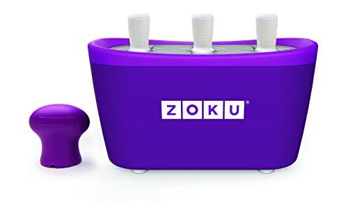 ZOKU Quick POP Maker Purple Quick Pop? Maker Con 3 scomparti