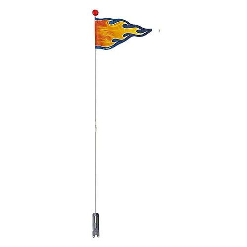 Kidzamo Flame Safety Flags (2-Piece) (Bike Flag)