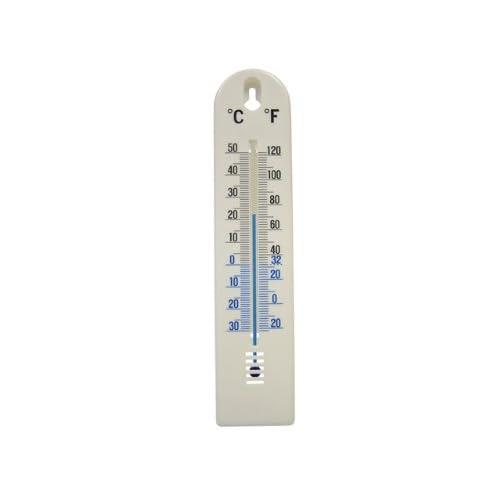 Faithfull THPLASTIC 200mm Thermometer Wall Plastic