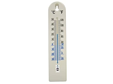 5x Thermometer 20cm  Zimmerthermometer Außenthermometer Kunststoffthermometer