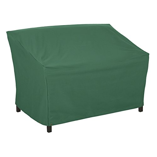 Classic Accessories 55-444-011101-11 Atrium Patio Sofa Cover, 76-Inch, Green