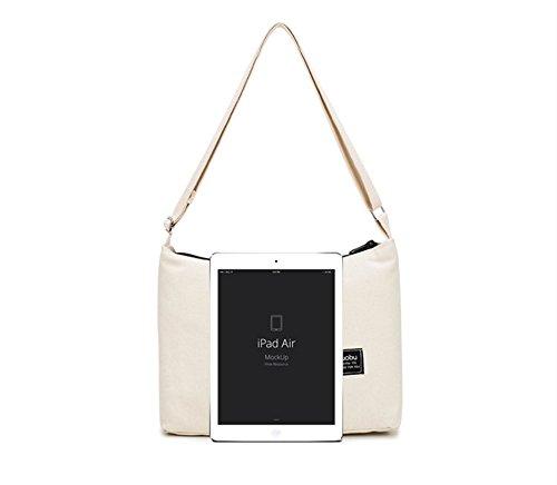 Shopping Hobo Women's Bag Canvas Light Shoulder ZIIPOR Casual Bag Grey Bag Crossbody Bag UxXpywqz