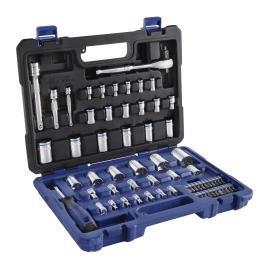 Kobalt 64-piece Standard/metric Mechanic's Tool Set with Case 87164