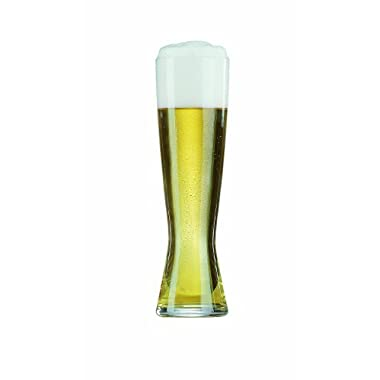 Spiegelau Beer Classics Non-Leaded Crystal Tall Pilsner Glass, Set of 4