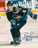 Autograph Warehouse 291240 8 x 10 in. Bryan Mccabe Autographed No.SC1 Photo - New York Islanders