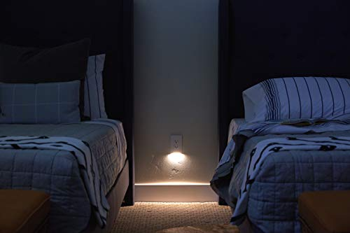 3 Pack - SnapPower GuideLight 2 [NEW VERSION] - Night Light - Electrical Outlet Wall Plate With LED Night Lights - Automatic ON/OFF Sensor - FOR OUTLETS (Duplex, White)